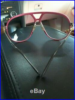 Vintage 80s ALPINA M1 HOT PINK LIMITED EDITION Sunglasses EXCELLENT CONDITION
