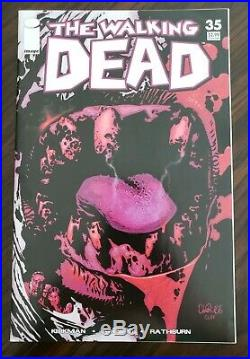 WALKING DEAD (Image 2007) #35 ERROR VARIANT & First print. Excellent Condition