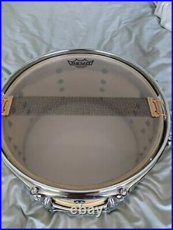 WHOA! Pearl Limited Edition 13x7 Birch/Gum Snare Drum EXCELLENT shape FREE SHIP