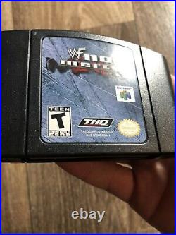 WWF No Mercy Nintendo 64 N64 USA-1 Mail In Variant Very Rare Excellent Condition