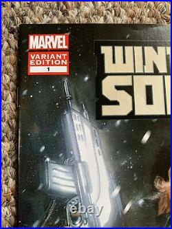 Winter Soldier 1 Dell Otto Variant In Excellent Condition