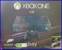 Xbox One Console 1 TB Forza 6 Limited Edition Excellent Condition