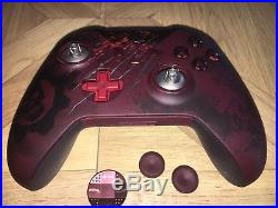 Xbox One Gears Of War Limited Edition Elite Controller Excellent Condition