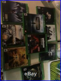 Xbox One X Project Scorpio Edition +9 Games + Excellent Condition