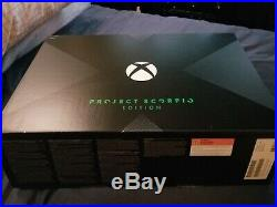 Xbox One X Project Scorpio Edition Excellent Condition + Extras