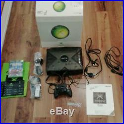Xbox Special Edition Console System Japan COMPLETE EXCELLENT CONDITION Rare