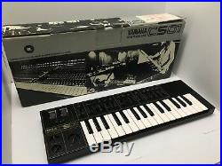 Yamaha CS01 ANALOG Synthesizer BLACK EDITION CS-01 Synth EXCELLENT CONDITION