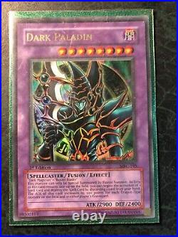 Yu-Gi-Oh Magician's Force 1st Edition Dark Paladin MFC-105 Excellent Condition