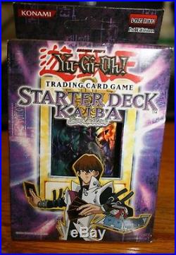 Yugioh Starter Deck Kaiba and Joey 1st Edition! Fair and Excellent condition