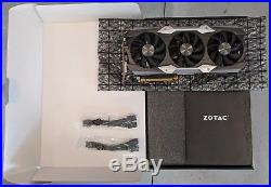 ZOTAC NVIDIA GeForce GTX 1080 Ti AMP Extreme Core Edition Excellent Condition