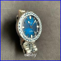 Zodiac Sea Wolf Topper Edition Blue Rally 40 mm Excellent Condition! ZO9273