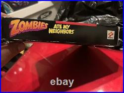 Zombies Ate My Neighbors Super Nintendo SNES Variant Version Excellent Condition